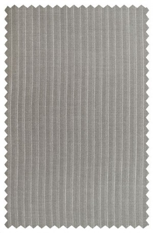Hickey Freeman Medium Tan Pinstripe Suit 001-311029