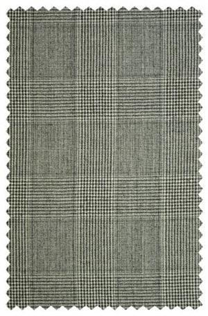 Hickey Freeman Gray Plaid Suit 015-305016