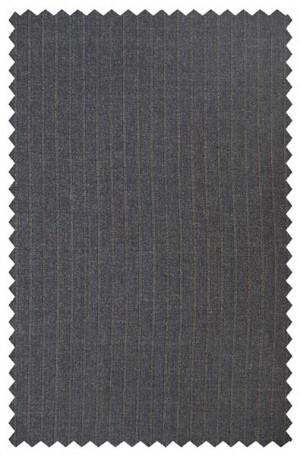 Hickey Freeman Dark Gray Stripe Suit #025-301004