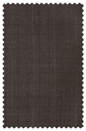 Hickey Freeman Dark Brown Pattern Suit #025-306012