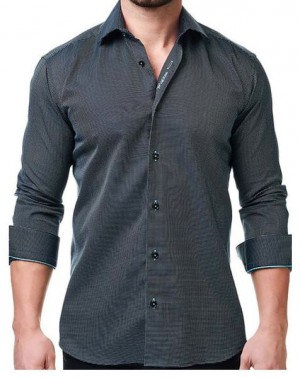 Maceoo Black Sport Shirt #03111-BLK