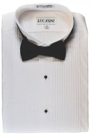 Cotton Blend Laydown Formal Shirt