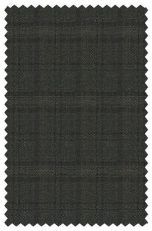 Blujacket Olive Plaid Slim Fit Sportcoat #122269