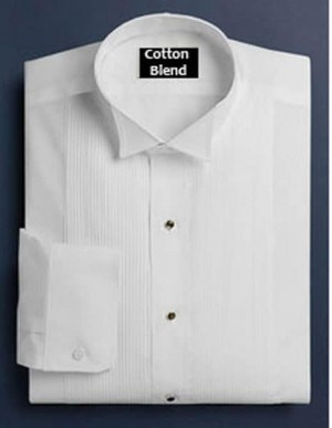 Cotton Blend Wing Formal Shirt