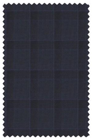 Varvatos Navy Pattern Slim Fit Suit #1234A