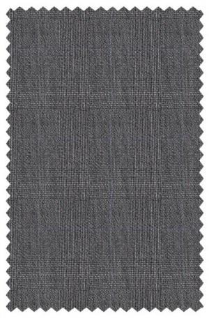Varvatos Gray Subtle Plaid Slim Fit Suit #1234F
