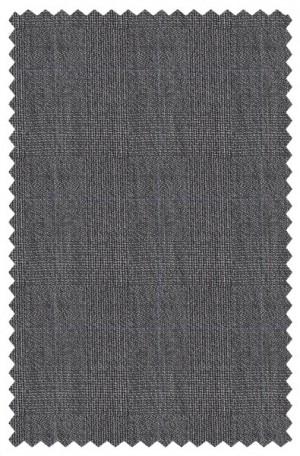 Varvatos Gray Subtle Plaid Slim Fit Suit 1234F