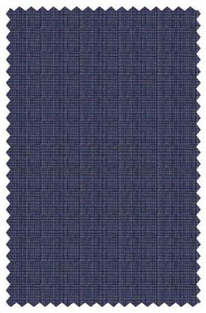 Varvatos Gray-Blue Micro-Check Slim Fit Suit #1234K