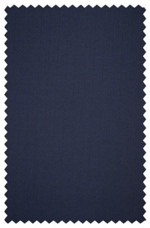 DKNY Navy Herringbone Slim Fit Suit 12Y1083