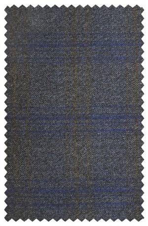 Jack Victor Blue & Gray Pattern Sportcoat #132105