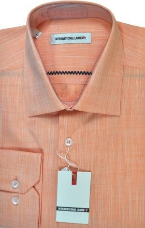 International Laundry Peach Sport Shirt #13280-28
