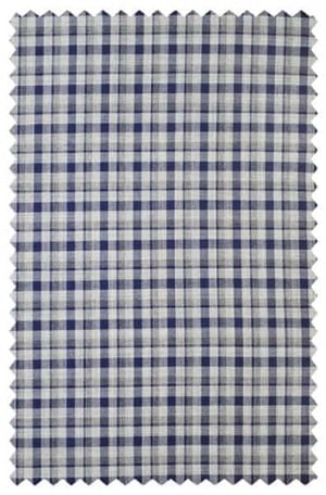 Jack Victor Silver & Blue Check Sportcoat #141206