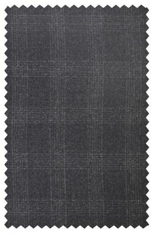 Betenly Charcoal Plaid 3-Piece Suit #142006