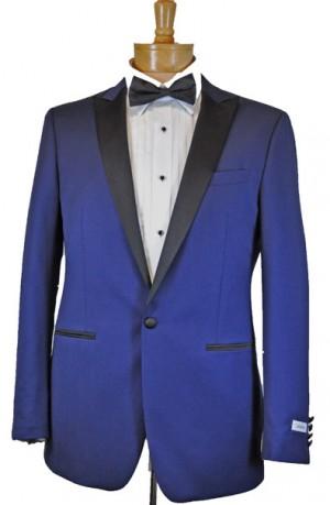Calvin Klein Royal Blue Slim Fit Tuxedo #15X9993