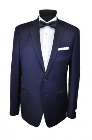 Calvin Klein Navy 'Extreme' Slim Fit Tuxedo #15XX994