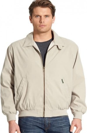 Weatherproof Tan 'Golf' Jacket #1610-TAN