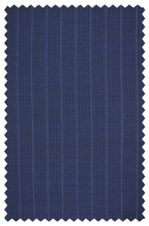 Betenly Blue Pinstripe Tailored Fit Suit 161008
