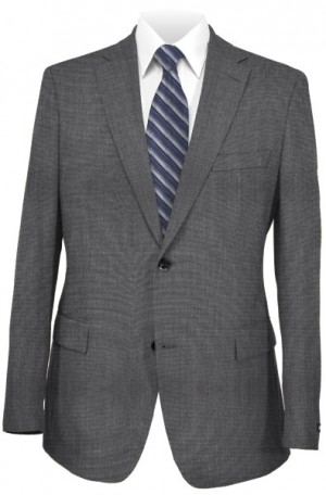 Calvin Klein Medium Gray Extreme-Slim Fit Suit Separates