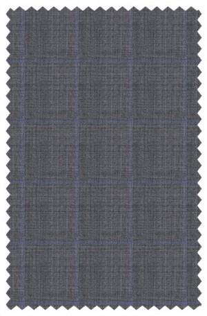 Ralph Lauren Ultraflex Gray Windowpane Classic Fit Suit #1RZ2381