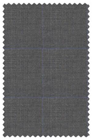 Ralph Lauren Ultraflex Gray Pattern Vested Classic Fit Suit #1RZF982