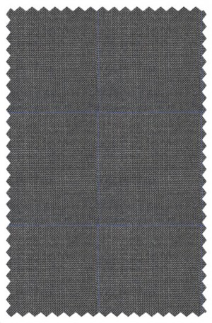 Ralph Lauren Gray Pattern Tailored Fit Vested Ultraflex Suit #1RZF982
