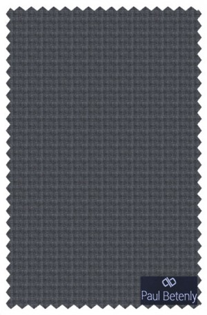 Betenly Gray Check Tailored Fit Suit 1T81010