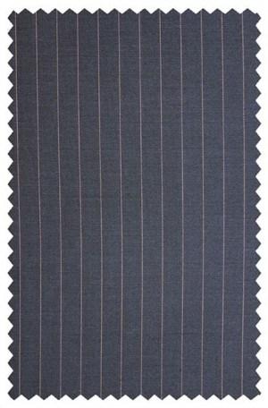 Ike Behar Medium Blue Stripe Slim Fit Suit #20-068802-407