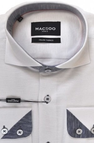 Maceoo White Sport Shirt #20170100063