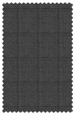 Ralph Lauren Ultraflex Charcoal Windowpane Tailored Fit Suit #21RZ2061