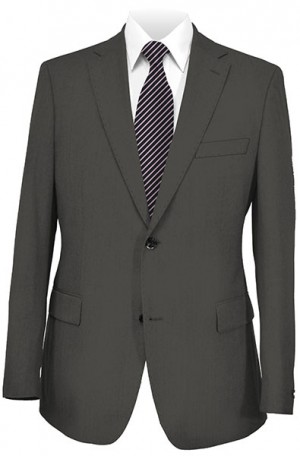 Paul Betenly Charcoal Ceramica Tailored Fit Suit 22040