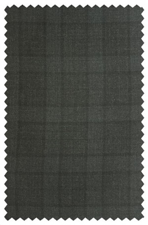 Betenly Charcoal Pattern Tailored Fit Suit 222007