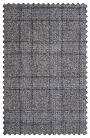 Rubin Taupe Windowpane Gentleman's Fit Sportcoat #22342