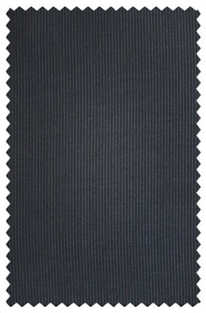 Joseph Abboud Navy Tonal Stripe Suit with Pleated Slacks #230381