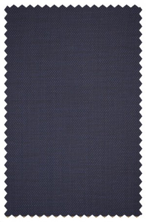 Varvatos Navy Micro-Check/Tick Weave Slim Fit Suit 2345B