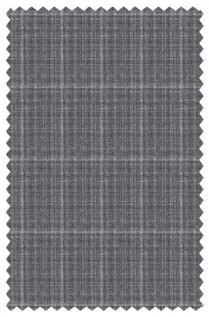 Varvatos Light-Medium Gray Tailored Fit Suit #2345C