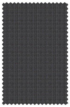 Varvatos Blue-Gray Pattern Slim Fit Suit 2345D