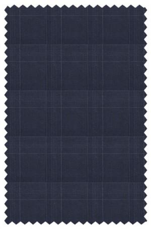 Tiglio Navy Pattern Slim Fit Suit #2458F-162-2