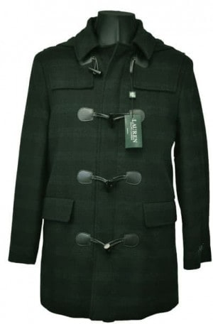 Ralph Lauren Black Watch Stadium Coat #2IS0012