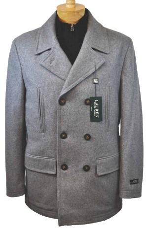Ralph Lauren Gray Pea Coat #2JC0102