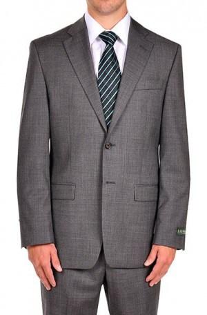 Ralph Lauren Gray Sharkskin Suit Separates Package