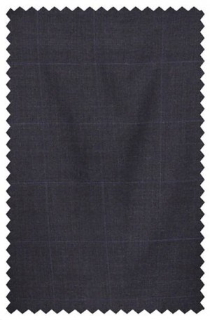 Ralph Lauren Navy Blue Plaid Suit Separates #2MX0078