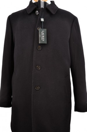 Ralph Lauren Black Insulated 3/4-Length Coat #2WT0130LADD