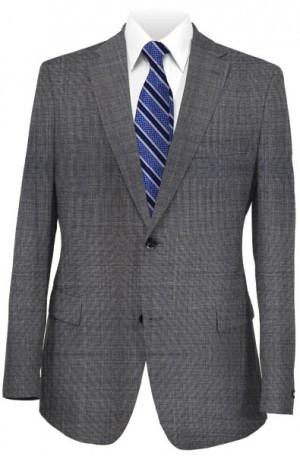 Ralph Lauren Ultraflex Medium Grey Sharkskin Pure Wool Separates 2MX0075
