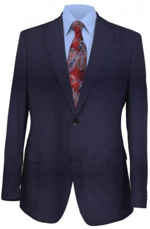 Ralph Lauren Ultraflex Solid Navy Pure Wool Separates