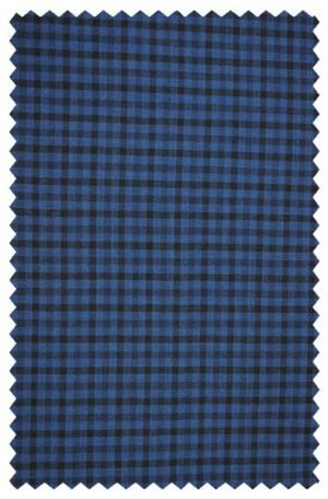 Rubin Navy & Blue Check Gentleman's Fit Sportcoat #31186