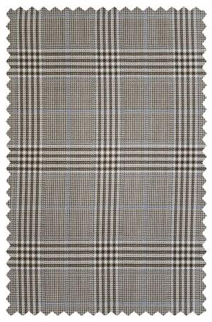Abboud Tan Pattern Gentleman's Fit Sportcoat #314290