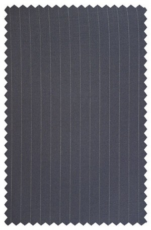 Petrocelli 'Executive' Cut Navy Pinstripe Suit 31532