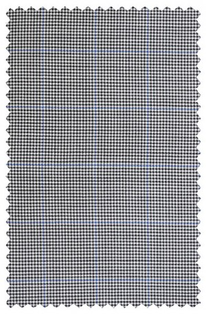 Rubin Black & White Check Tailored Fit Suit #32199