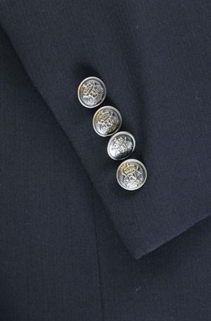 ItalUomo Navy Taiulored Fit Blazer #32797-1