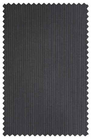Jack Victor Black Tonal Stripe Suit 331802